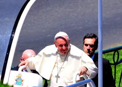 Canción de La Ley fue parte del discurso del Papa Francisco