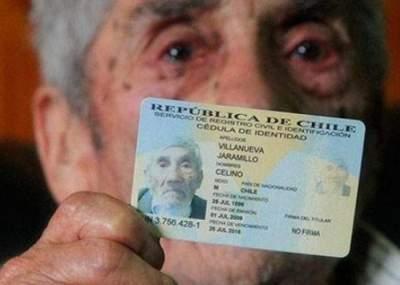 Hombre más longevo de Chile se encuentra en estado crítico