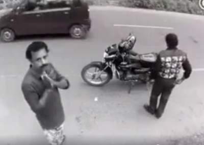 Ladrón devuelve cartera tras descubrir que cámara lo graba