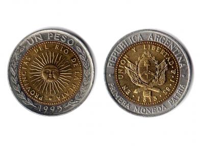 Resultado de imagen para moneda de un peso antes y ahora