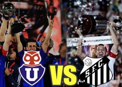 Señal online y en vivo para ver Universidad de Chile vs Santos ReCopa